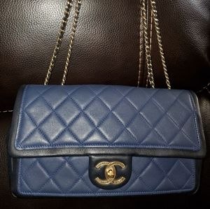 Chanel CC turnlock Graphic Flap